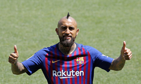 Vidal determined to win three CL with Barca