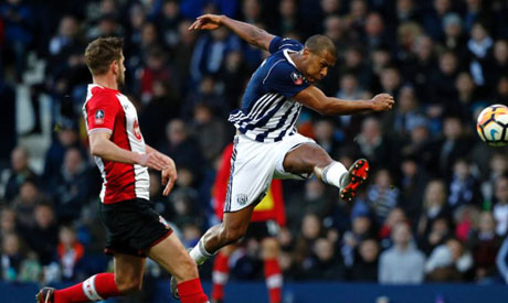 Salomon Rondon has joined Newcastle United on loan (AFP)