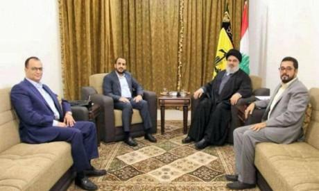 Hizbullah- Houthi meeting