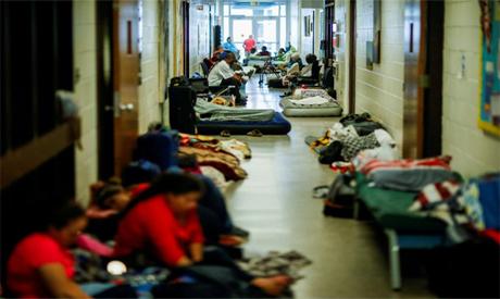 Shelter in North Carolina
