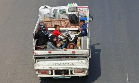 Residents of Idlib