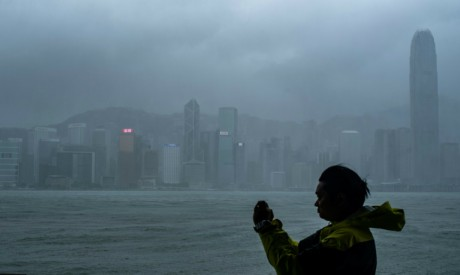 Mangkhut kills four in China, causes destruction in Hong Kong