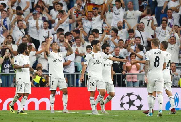 PHOTO GALLERY: Real Madrid beat Roma, Liverpool, Barcelona, Man United, Bayern win in UEFA Champions League