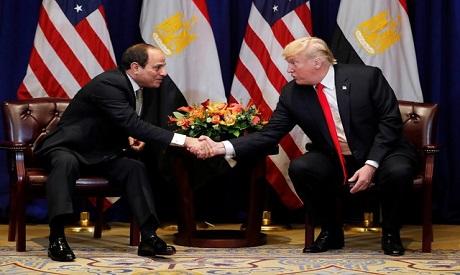 Abdel Fattah el-Sisi, Donald Trump