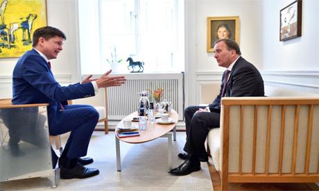 Swedish PM and Speaker