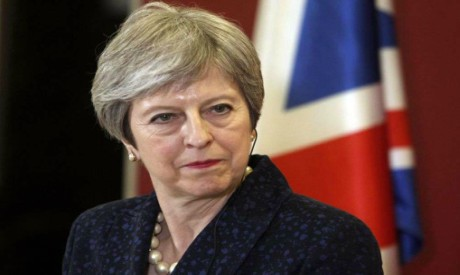 UK leader fights back against critics amid Brexit upheaval
