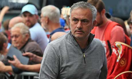 Jose Mourinho is cool under pressure, says Manchester United