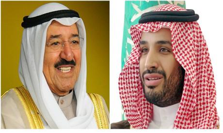 Sabah al-Ahmad al-Jaber al-Sabah, Mohammed bin Salman