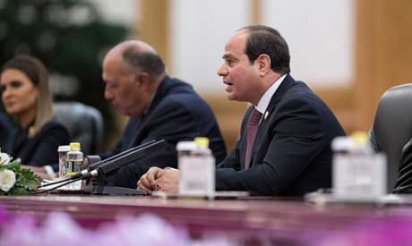 Egyptian President Abdel Fattah al-Sisi (Reuters)