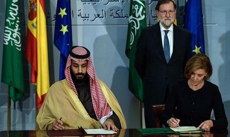 Mohammed bin Salman, Maria Doroles de Cospedal