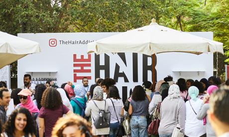 Big crowd at hair festival (Photo:Hamed Kamel El Sayed )