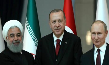 Rouhani, Erdogan, Putin