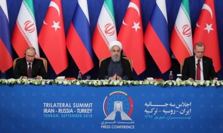 Putin, Rouhani, Erdogan