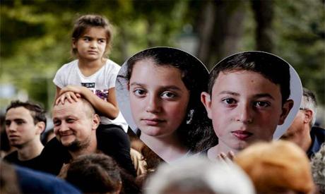 Armenian asylum children