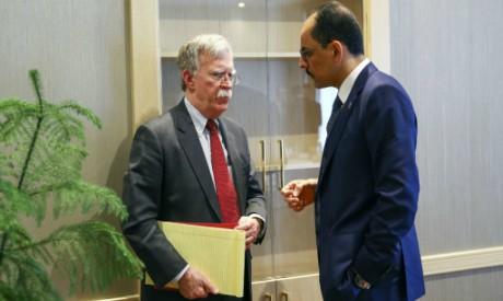 Ibrahim Kalin, John Bolton