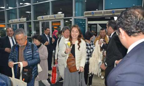 Korean tourists