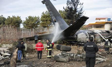 Airplane crash in Iran