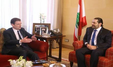 David Hale, Saad al-Hariri