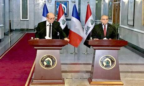 Jean-Yves Le Drian, Mohamed Ali Alhakim