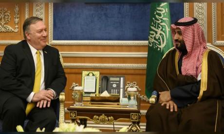 Mike Pompeo, Mohammed bin Salman