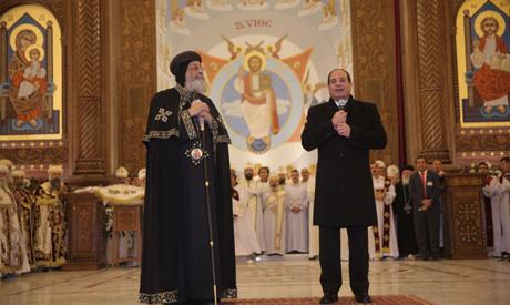 Pope Tawadros II, Sisi