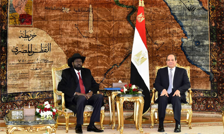 In Photos Sisi Stresses Egypt S Support For South Sudan S Stability