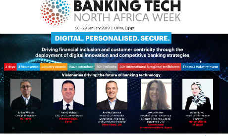 Egypt to host Banking Tech North Africa Week on 28-29 January