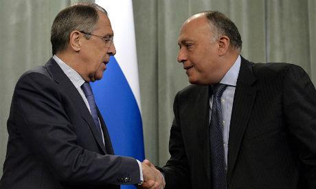 FM Shoukry, FM Lavrov