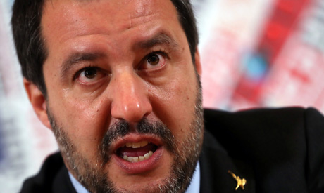 Italian Deputy Prime Minister and right-wing League party leader Matteo Salvini (Reuters)
