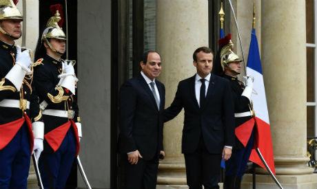 El-Sisi, Macron