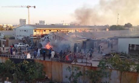 Clashes in Tripoli, Libya