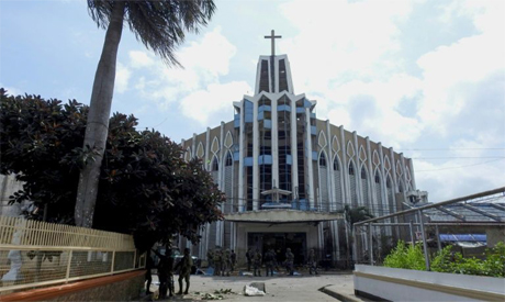 Catholic cathedral in Philippines