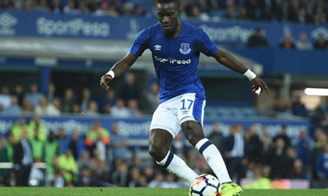 PSG have had a bid for Idrissa Gueye rejected by Everton (AFP)