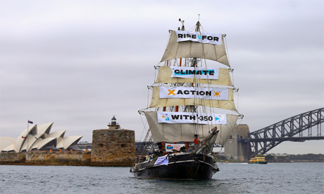 Protests against climate change