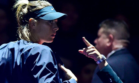 Injured Maria Sharapova has pulled out of the St. Petersburg Ladies Trophy (AFP)