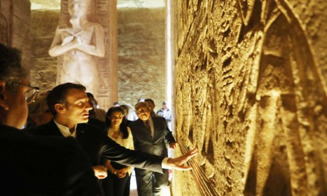 Macron S Trip To Egypt A Message To The West Politics Egypt Ahram Online