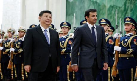 Tamim bin Hamad Al Thani , Xi Jinping