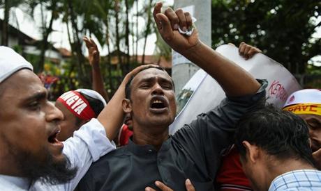 Rohingya Protests