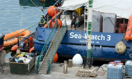 he Dutch-flagged search and rescue vessel