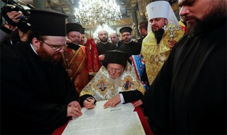 The spiritual head of Orthodox Christians