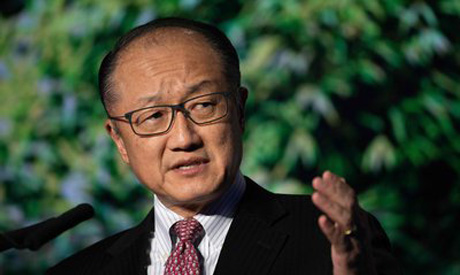 World Bank President Jim Yong Kim (AFP)