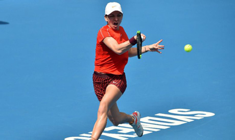 Simona Halep heads to Melbourne Park for the opening Grand Slam of the year with just one game under
