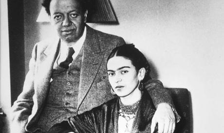 Frida Kahlo and Diego
