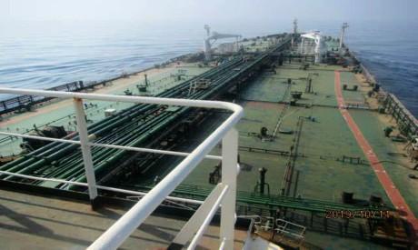 Iranian crude oil tanker Sabiti