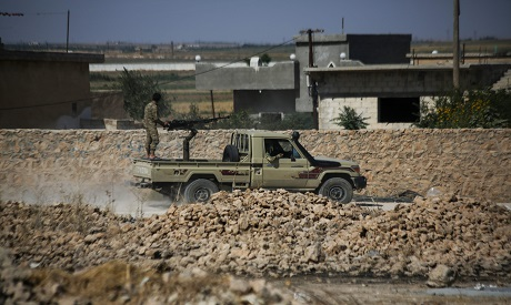 Syrian forces backed by Turkey