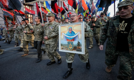 Veterans, activists and supporters of Ukraine
