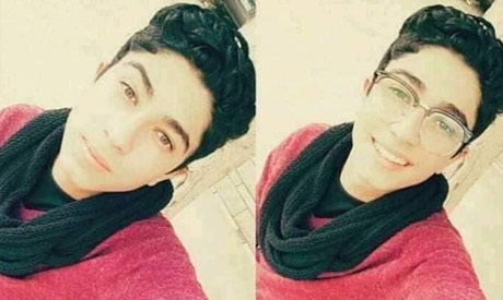 The 18-year-old high school student Mahmoud El-Banna