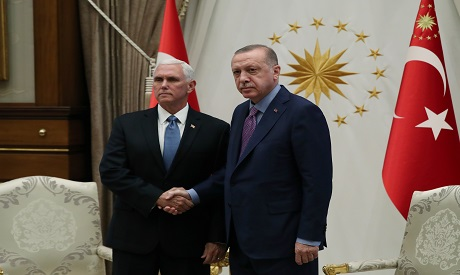 Erdogan and Pence