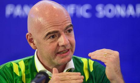 FIFA president Gianni Infantino (AFP)