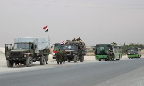 Syrian regime troops